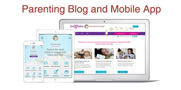 Parenting Blog and Mobile App